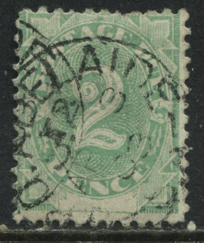 Australia 1902 2d Postage Due perf 11 by 11 1/2 used