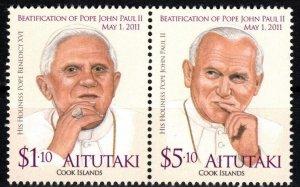 Aitutaki #580  MNH CV $10.50 (X8700)