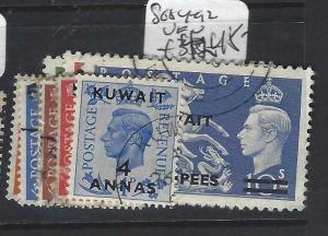 KUWAIT (PP1704BB)  ON  GB  KGVKI  SG 84-92       VFU