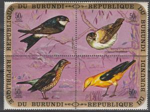 Burundi #C137 MNH  CV $32.50 (A17563)