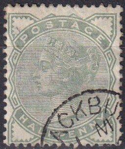 Great Britain #78 F-VF Used CV $13.50 (Z1456)