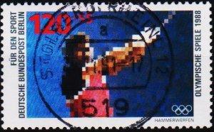 Germany(Berlin). 1988 120pf+55pf  S.G.B803 Fine Used