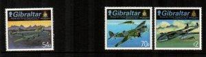 Gibraltar #1522//1525  MNH  Missing #1523