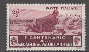 COLLECTION LOT # 4974 ITALY #340 MH 1934 CV+$17.50