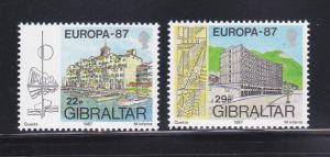 Gibraltar 499-500 Set MNH Europa