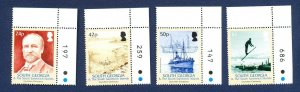 SOUTH GEORGIA - # 320-323; SG 403/6 - MNH - Grejviken - Ship, Ski Jump - 2005