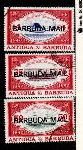 Barbuda 1155-1157 Used Set