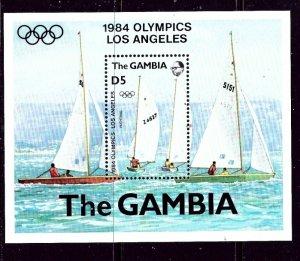 Gambia 514 MNH 1984 Olympics    (ap4204)
