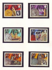 Isle of Man Sc 889-94 2001 Death of Victoria stamp set mint NH