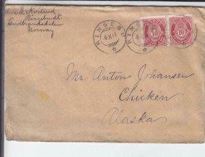 1911, Ringebu, Norway to Chicken, AK  (36345)