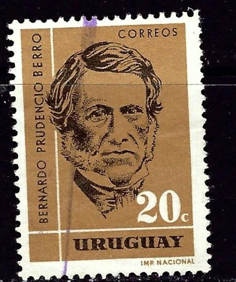 Uruguay 692 Used 1962 issue
