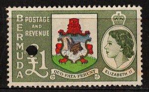 Bermuda Sc# 162 - Interesting Punch Cancel