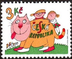 Czech Republic 2988 - Mint-H - 3k International Children's Day (1996)