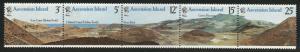 Ascension Island Scott  234b MNH** 1978 stamp set strip