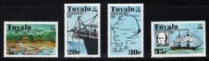 Tuvalu #'s 55-58 - Mint - Original Gum - Never Hinged