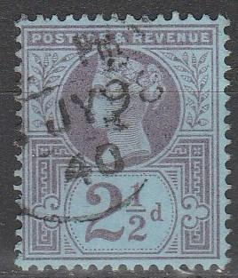 Great Britain #114 F-VF  Used  CV $3.50 (A2109)