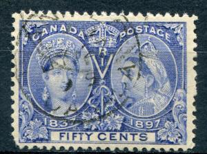 Canada #60  Used  VF