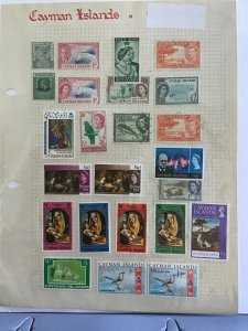 Cayman Islands  stamp  page R23488
