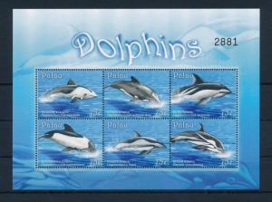 [35273] Palau 2009 Marine Life Dolphins MNH Sheet