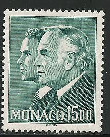 Monaco#1514, Mint Never Hinge