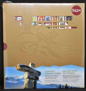 CANADA 2010 Stamp Yearbook USA delivery only.