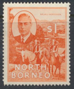 North Borneo  SG 367 SC# 255 MH  see scans / details