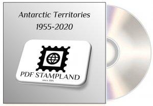 Antarctic Territories (4 albums) 1955-2020 PDF STAMP ALBUM PAGES