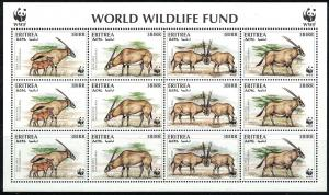 Eritrea World Wildife Fund-BeisaOryx MNH 1996