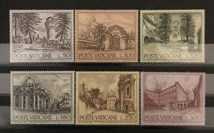 Vatican City 1976, #601-06, MNH, CV $1.50