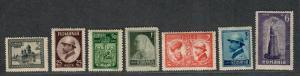 Romania Sc#283-289 M/NH/VF, Complete Set, Cv. $21.40