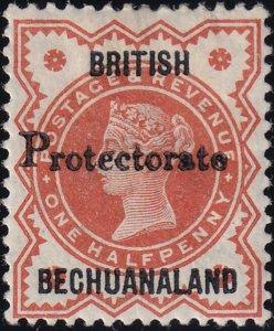 Bechuanaland 1890 SC 53 MLH