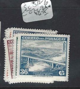 PARAGUAY  (PP1802B)  SC 512-6, C274-9  MNH