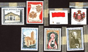 Monaco #Mint Collection of Stamps, Mixed Condition