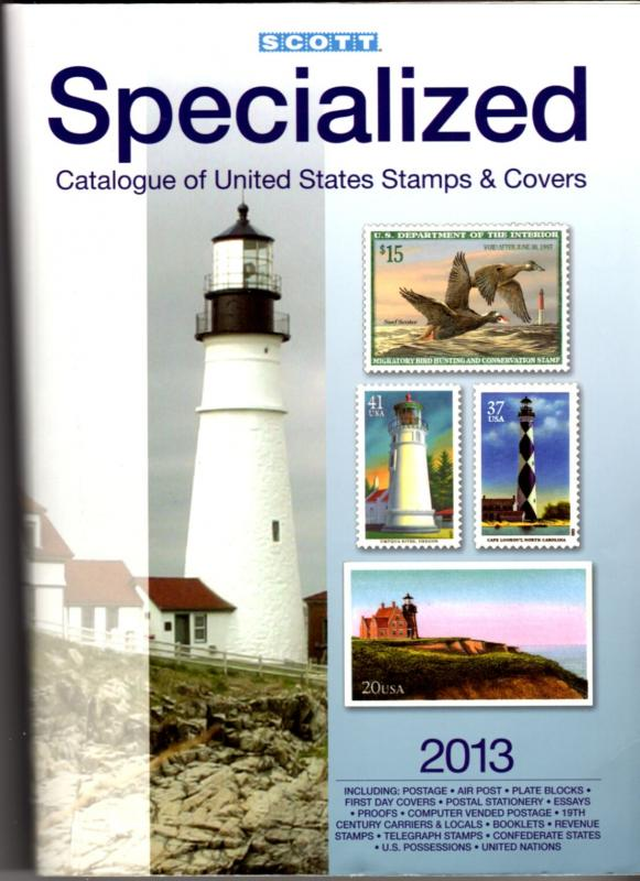 US Scott 2013 Specialized Catalogue of US Stamps and Covers