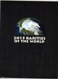 Siegel Rarity Sale 11106 US and WW 2015