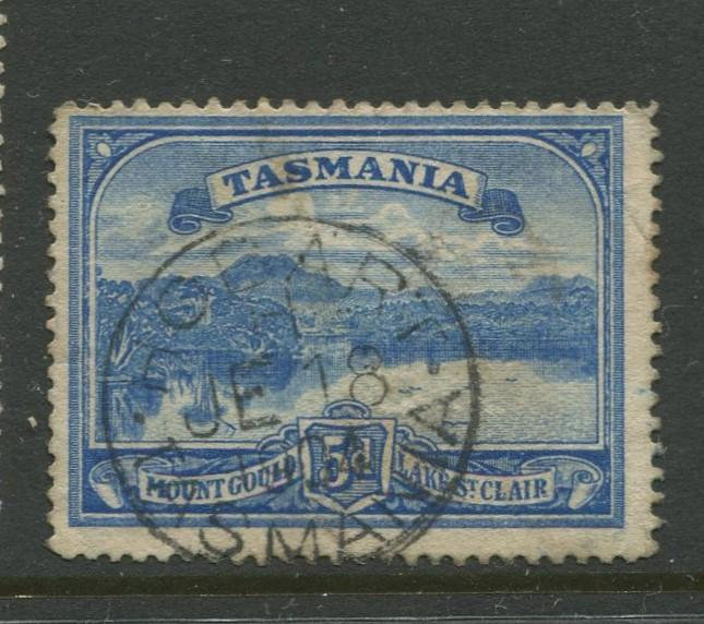 Tasmnia  #92  FU  1899 Single 5d Stamp