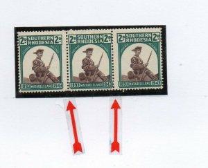 Southern Rhodesia: 1943 Matabeleland 2d narrow setting SG 61var mint