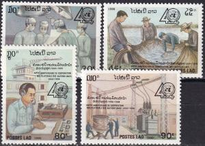 Laos #986-9 MNH  CV $6.25 (A19752)