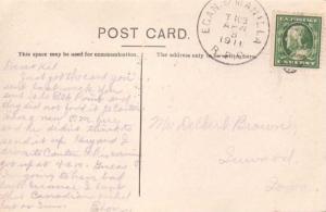 United States U.S. R.P.O.'s Egan. & Manilla 1911 886-E-3  PC/.