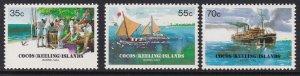 111-13 Cocos Islands 1984 Barrel Mail MNH
