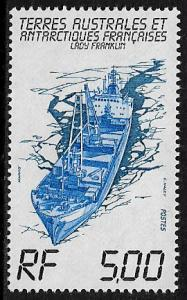 F.S.A.T. #104 MNH Stamp - Freighter Lady Franklin