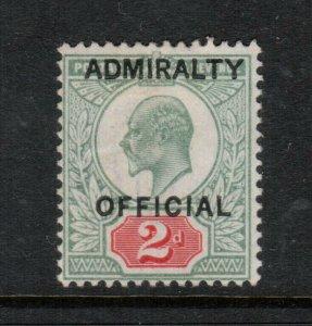 Great Britain #O75 Fine Mint Original Gum Hinged