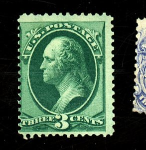 US #158 MINT Ave-Fine OG HR Cat$110