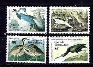 Grenada-Grenada 637-40 MNH 1985 Birds