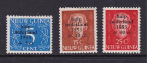 Netherlands New Guinea x 3 decent cv MH