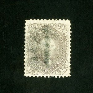 US Stamps # 78b Sup Gem w/ light cancel Scott Value $425.00