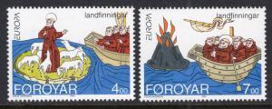 Faroe Islands 264-265 Europa MNH VF