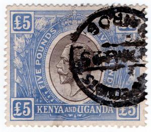 (I.B) KUT Revenue : Kenya £5 (Law Courts)