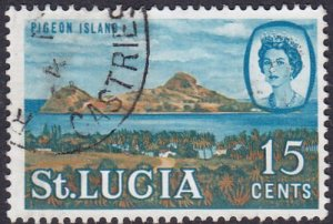 St Lucia 1964 SG205 Used