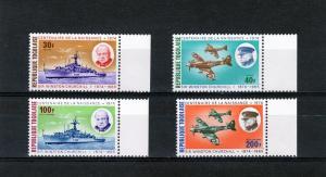 Togo 1974 Churchill Ships/Aircrafts Set(4)Sc#892/3+C240/241